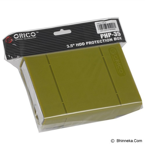 ORICO HDD Protection Box PHP-35 [ORI-HDD-PRTEC-PHP-35-GR]  -  Green - Hdd External Case
